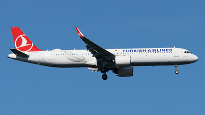 A picture of TCLSH - Airbus A321271NX - Turkish Airlines - © paoloz99
