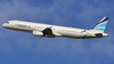 A picture of HL7722 - Airbus A321231 - Air Busan - © REDSOX