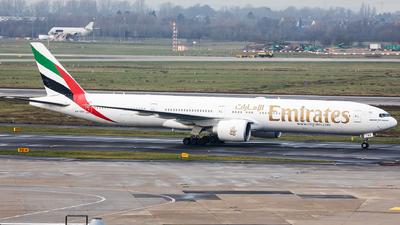 A picture of A6EBQ - Boeing 77736N(ER) - Emirates - © Oliver Sänger