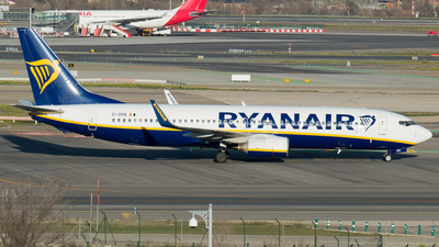 A picture of EIDPB - Boeing 7378AS - Ryanair - © Mateo León