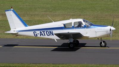 G-ATON - Piper PA-28-140 Cherokee - Private