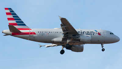 N738US - Airbus A319-112 - American Airlines