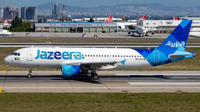 9K-CAP - Airbus A320-214 - Jazeera Airways