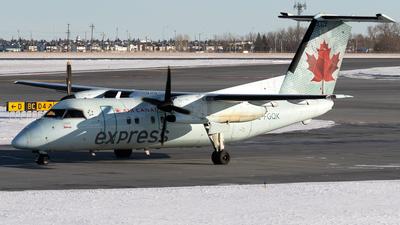 A picture of CFGQK - De Havilland Canada Dash 8100 - [193] - © Mike MacKinnon