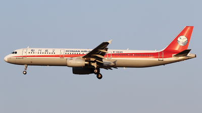 A picture of B6845 - Airbus A321231 - Sichuan Airlines - © ceci wong