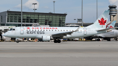 A picture of CFEJY - Embraer E175SU - Air Canada - © MingyaoLeonardo