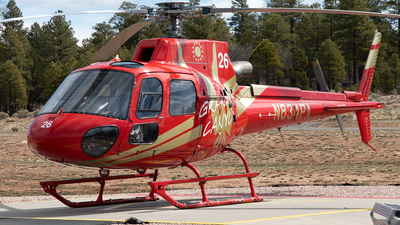 N834PA - Eurocopter AS 350B3 Ecureuil - Papillon Grand Canyon Helicopters