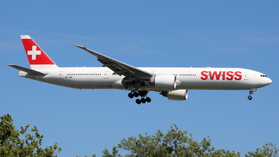 A picture of HBJNF - Boeing 7773DE(ER) - Swiss - © Andriy Yegorov