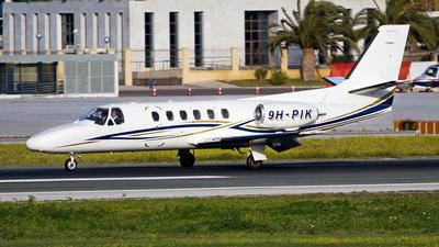 9H-PIK - Cessna 550 Citation II - Private