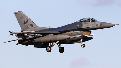 89-2026 - Lockheed Martin F-16C Fighting Falcon - United States - US Air Force (USAF)