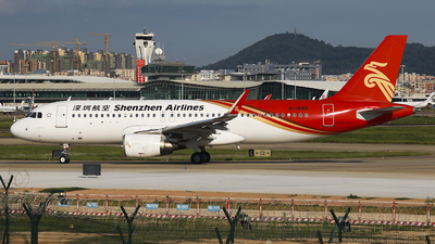 A picture of B1685 - Airbus A320214 - Shenzhen Airlines - © Luo Chun Hui