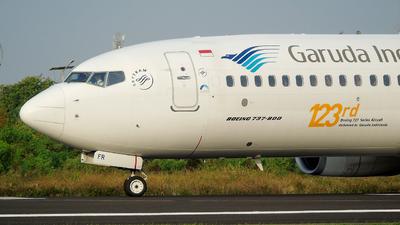 PK-GFR - Boeing 737-81D - Garuda Indonesia