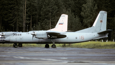 16 - Antonov An-24T - Russia - Air Force