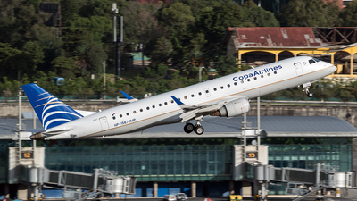 HP-1567CMP - Embraer 190-100IGW - Copa Airlines