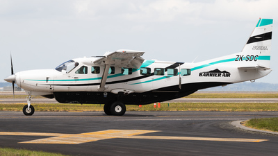 ZK-SDC - Cessna 208B Grand Caravan - Barrier Air