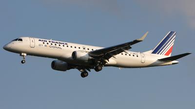 F-HBLG - Embraer 190-100LR - Air France (Régional Compagnie Aerienne)