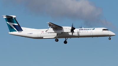 A picture of CGWUE - De Havilland Canada Dash 8400 - WestJet - © Shae Bilan