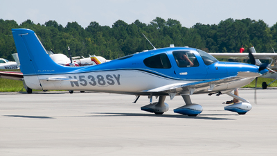 A picture of N538SY - Cirrus SR22T - [1816] - © Devin | Charleston.Spotter