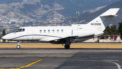 N43MM - Hawker Beechcraft 800XP - Private