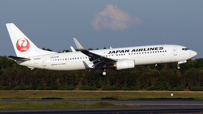 JA348J - Boeing 737-846 - Japan Airlines (JAL)
