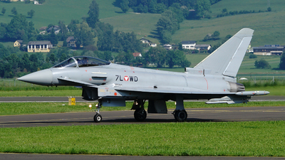 7L-WD - Eurofighter Typhoon EF2000 - Austria - Air Force