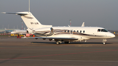 OY-JJK - Hawker Beechcraft 4000 - Private