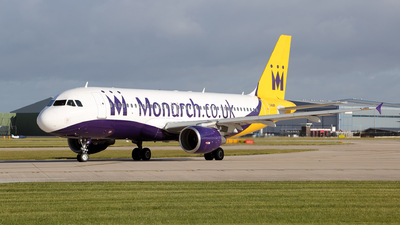 G-OZBY - Airbus A320-214 - Monarch Airlines