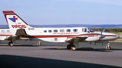 VH-YFD - Cessna 441 Conquest II - Royal Flying Doctor Service of Australia (Western Operations)