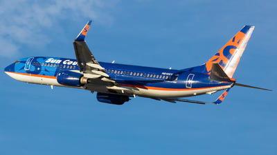 A picture of N815SY - Boeing 7378BK - Sun Country Airlines - © Stephen J Stein