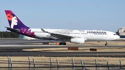 A picture of N389HA - Airbus A330243 - Hawaiian Airlines - © Akihiko Takahashi