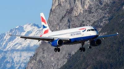 G-EUUR - Airbus A320-232 - British Airways