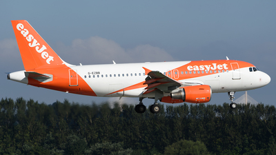 A picture of GEZBB - Airbus A319111 - easyJet - © Ian McGregor