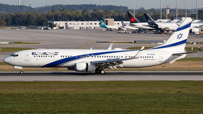 4X-EHC - Boeing 737-958ER - El Al Israel Airlines