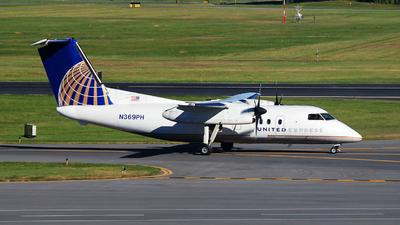 A picture of N369PH - De Havilland Canada Dash 8200 - [513] - © Hongming Zheng