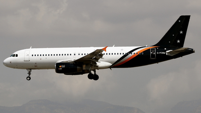 G-POWM - Airbus A320-232 - Titan Airways