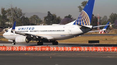 A picture of N14731 - Boeing 737724 - United Airlines - © Alejandro Aceves