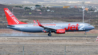 A picture of GJZBM - Boeing 7378MG - Jet2 - © Wings77