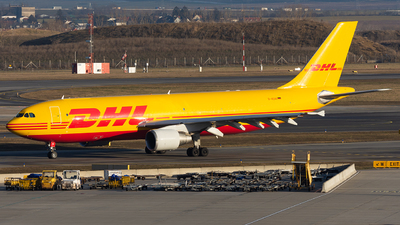 A picture of DAEAO - Airbus A300B4622R(F) - DHL - © Marcel Rudolf