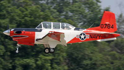 N190AC - Beechcraft T-34C Turbo Mentor - Private