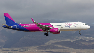 G-WUKK - Airbus A321-231 - Wizz Air UK