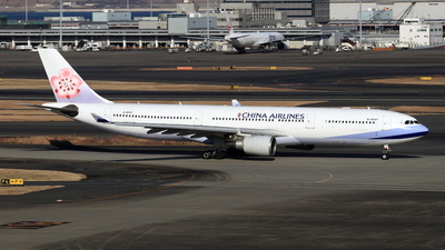 B-18307 - Airbus A330-302 - China Airlines