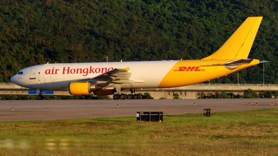 A picture of BLDB - Airbus A300F4605R - DHL - © Thomasng - HKPSA