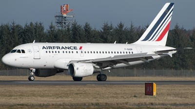 F-GUGR - Airbus A318-111 - Air France