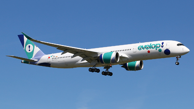 F-WZHJ - Airbus A350-941 - Evelop Airlines