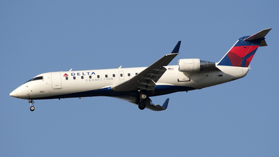 N418SW - Bombardier CRJ-200LR - Delta Connection (SkyWest Airlines)