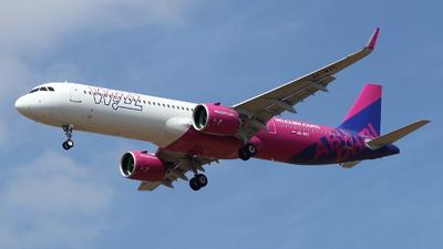 A6-WZC - Airbus A321-271NX - Wizz Air Abu Dhabi