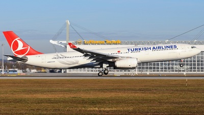 TC-JNK - Airbus A330-343 - Turkish Airlines