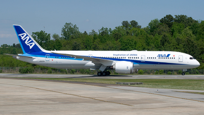 JA925A - Boeing 787-9 Dreamliner - All Nippon Airways (ANA)