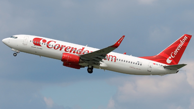 TC-TJP - Boeing 737-8BK - Corendon Airlines