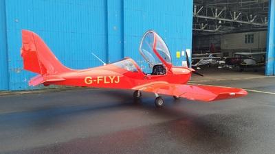 G-FLYJ - Evektor Eurostar SL - Alba Airsports